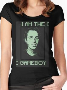 THE GAMEBOY- Jake and Amir Women's Fitted Scoop T-Shirt