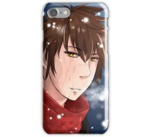 Dylan in the snow iPhone Case/Skin