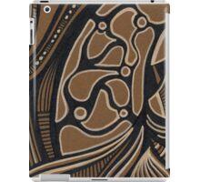 abstract ink iPad Case/Skin