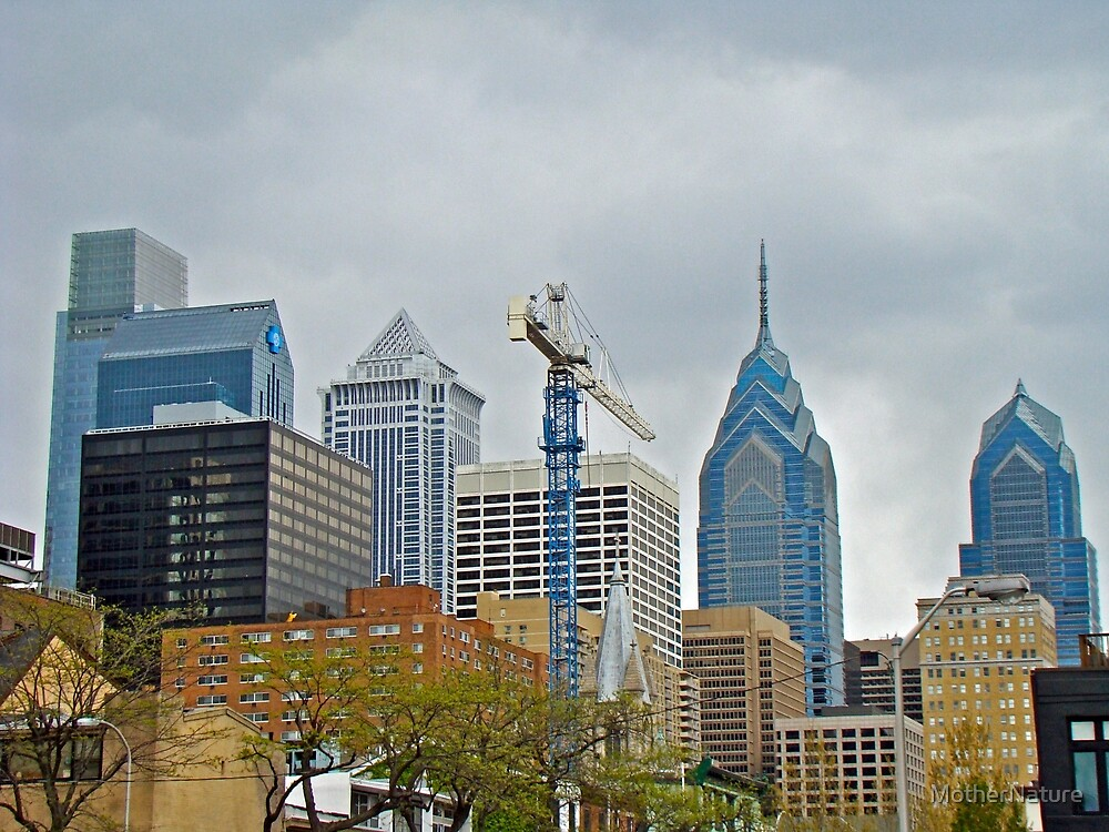 The Heart of the City - Philadelphia Pennsylvania by MotherNature