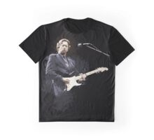 Digital painting of legend Eric Clapton Graphic T-Shirt