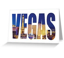 Vegas (Paris) Greeting Card