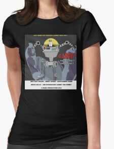 Garret the Ferret on Planet X Womens Fitted T-Shirt