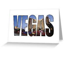 Vegas (Treasure Island) Greeting Card