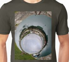 Hurry Head Harbour, Carnlough, County Antrim - Sky In Unisex T-Shirt