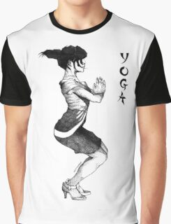 Yoga In High Heels Graphic T-Shirt