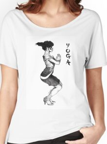 Yoga In High Heels Women's Relaxed Fit T-Shirt