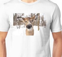 Nosey - White-tailed Deer Unisex T-Shirt