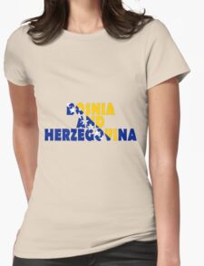 Bosnia and Herzegovina Womens Fitted T-Shirt