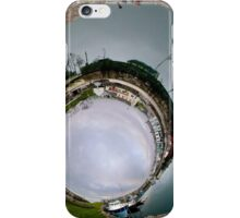 Hurry Head Harbour, Carnlough, County Antrim - Sky In iPhone Case/Skin
