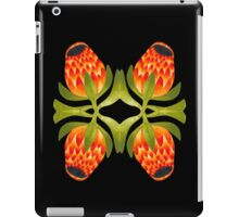 Floral symmetry iPad Case/Skin