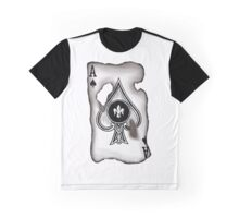 Burnt Ace Graphic T-Shirt