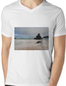 Overcast on Sango Bay Mens V-Neck T-Shirt