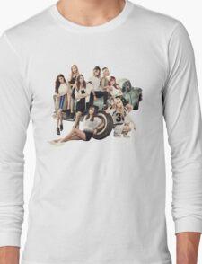 snsd bg Long Sleeve T-Shirt