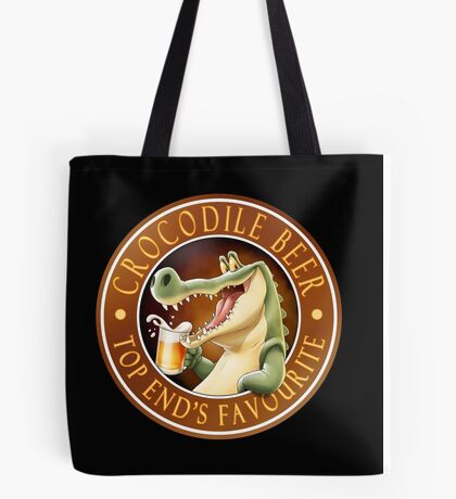 Crocodile Beer Tote Bag