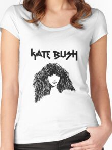 Kate Bush Women's Fitted Scoop T-Shirt