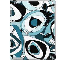 Retro Blue iPad Case/Skin