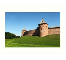 Fortress Novgorod Kremlin Art Print