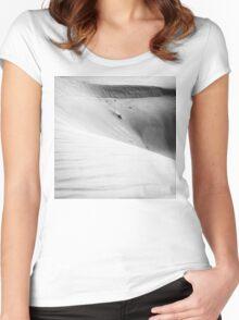 Desert waves #4 Women's Fitted Scoop T-Shirt