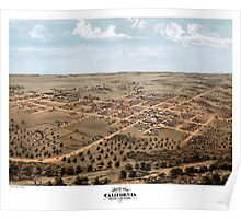 California - Missouri - United States - 1869 Poster