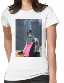 exid hani Womens Fitted T-Shirt