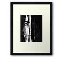 Lucie Hiding Framed Print