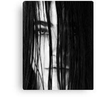 Lucie Hiding Canvas Print