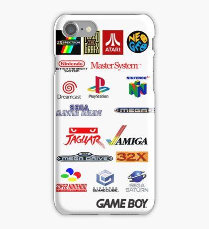 arcade logos videogames consolas iPhone Case/Skin