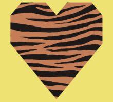 0567 Raw Sienna Tiger Baby Tee