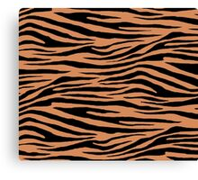 0567 Raw Sienna Tiger Canvas Print
