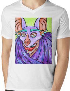 Chiroptera Mens V-Neck T-Shirt