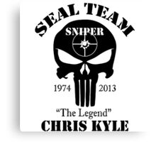 seal team sniper  Canvas Print