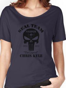 seal team sniper  Women's Relaxed Fit T-Shirt