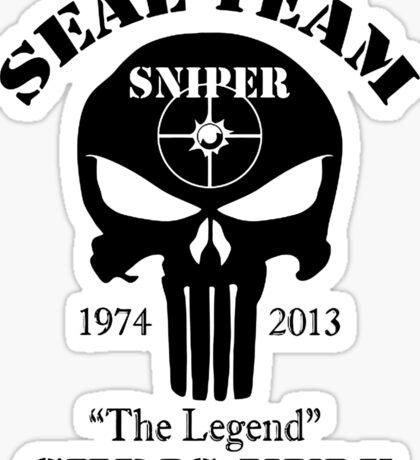 seal team sniper  Sticker