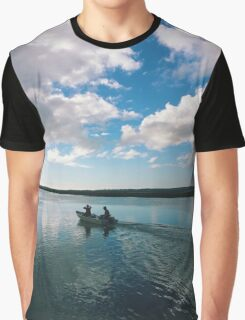 Boating Adventure Graphic T-Shirt