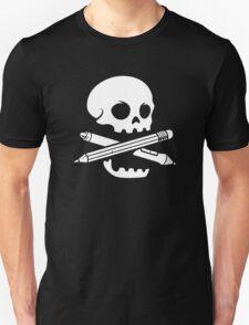 Illustrator Crossbones Unisex T-Shirt