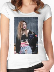 exid LE Women's Fitted Scoop T-Shirt