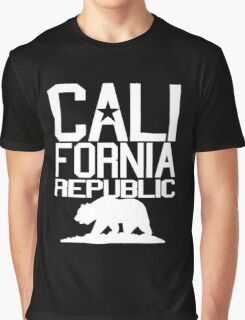 California Republic Bear Graphic T-Shirt