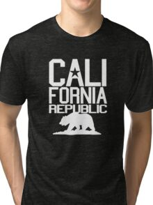 California Republic Bear Tri-blend T-Shirt