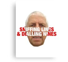 Pete Price belling plod  Canvas Print