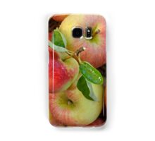 Basket of Fresh Handpicked Cox Apples Samsung Galaxy Case/Skin