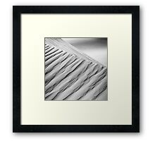 Desert waves #10 Framed Print