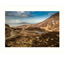 Mamore Gap Co. Donegal Art Print