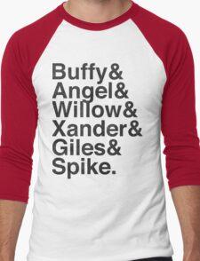 The Scooby Gang Vintage Black Men's Baseball ¾ T-Shirt