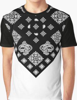 Black Bandanna  Graphic T-Shirt