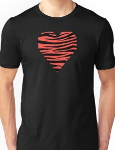 0572 Red Orange Tiger Unisex T-Shirt