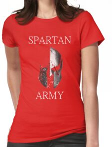 Spartan Army Womens Fitted T-Shirt