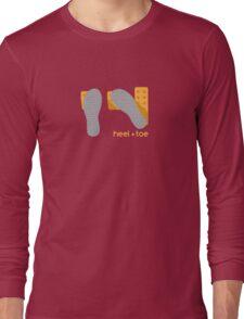 heel toe Long Sleeve T-Shirt