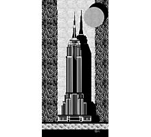 Empire State Building Deco Swing style Photographic Print