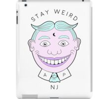 Stay Weird, NJ.  iPad Case/Skin
